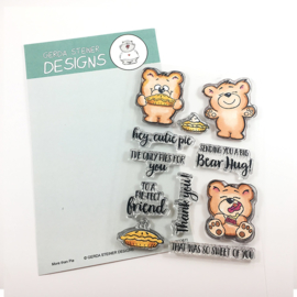 More than Pie 4x6 Clear Stamp Set