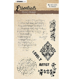BJ Clear stamp Essentials By Jolanda de Ronde nr.1