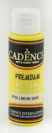 Premium acrylverf (semi mat) Citroen geel