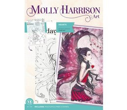 Molly Harrison Hearts Clear Stamps
