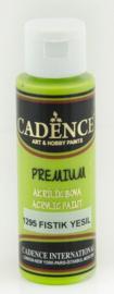 Premium acrylverf (semi mat) Pistachegroen
