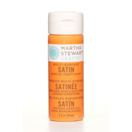 Martha Stewart • satin paint 59ml marmalade