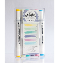 Water Based Dual Tip Markers Pastel