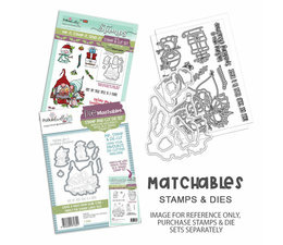 Gnome Tinsel in a Tangle Clear Stamps
