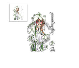 Snowdrop Darling Bud Clear Stamps