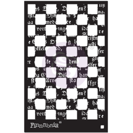 6×9 STENCIL – MIND GAMES