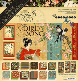 Bird Song 12x12 Inch Deluxe Collector's Edition