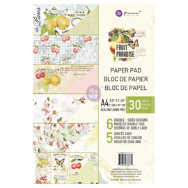 A4-PAPIERBLOK - FRUIT PARADISE-COLLECTIE