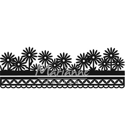 Anja's flower border