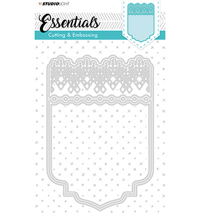 Cutting and Embossing Die Cut, Essentials nr. 197