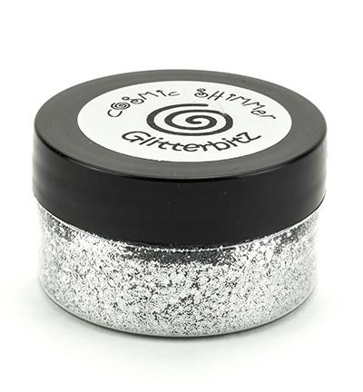 Glitterbitz Silver Chrome