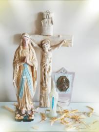 OUD FRANSE crucifix