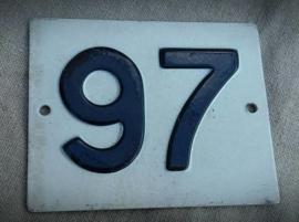 "HUISNUMMER ""97"""