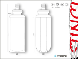 Hydra Cell Soft Flask 600ML