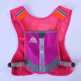 Night reflective Safety hardloop vest