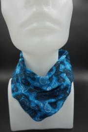 Bandana Blue Skull!