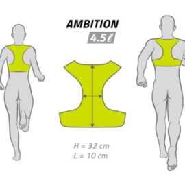 InStinct Ambition Trail/Race Runningvest 4.5L