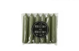 Rustik Lys Dinerkaars groen 6-pack