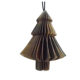 Honeycomb Kerstboom 10cm
