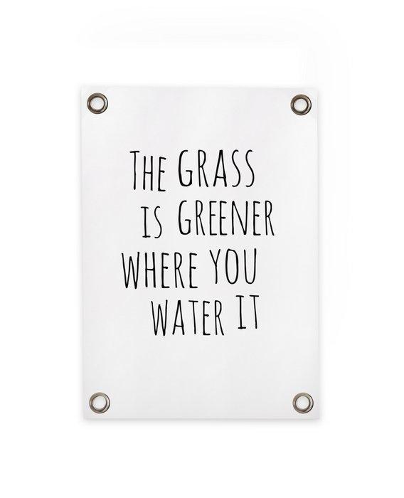 Tuinposter Gras