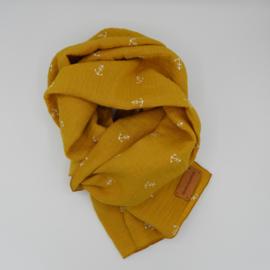 Sjaal Anker Okergeel