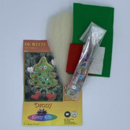 Viltpakketje - Danny - Kerstboom