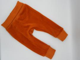 Babybroekje Jersey Rib Oranje