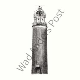 Ansichtkaart Eierland Vuurtoren Texel