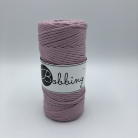 Bobbiny macramé 3mm Dusty Pink