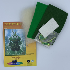 Viltpakketje - Froggy - Kikker