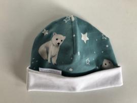 Baby Beren Muts handmade by Wad Anders