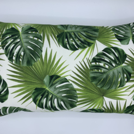 Kussen Leaf tropical - formaat 30 x 50 cm
