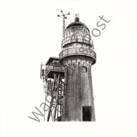 Ansichtkaart Vuurduin Vuurtoren Vlieland