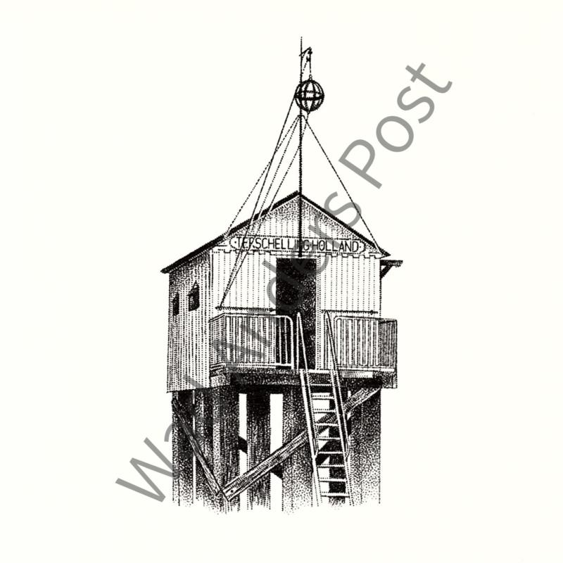 Ansichtkaart het Drenkelingenhuisje