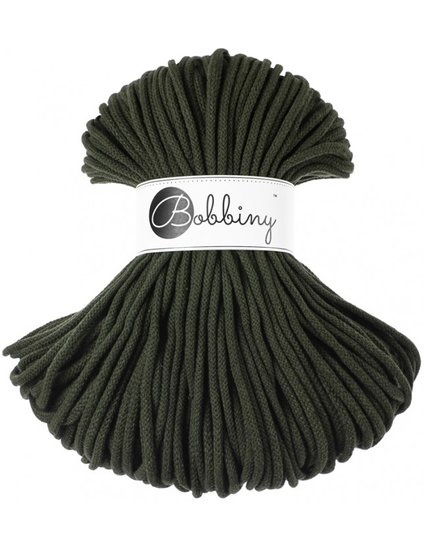 Bobbiny premium Cord 5mm Olive Green