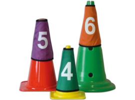 Nummerset voor pylonen