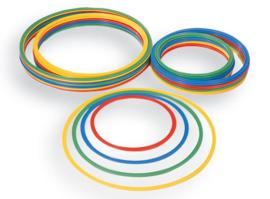 Hoepel 4 stuks (diameter 50 cm)