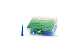 8001273 doseernaald 22ga  conisch, blauw, dia 0,41mm
