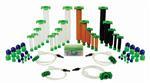 QK-CSK QuantX Spuiten/plunjers/adapters  sample kit universeel
