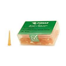 8001263 doseernaald 14ga conisch met spitse punt, oranje, diam 1,6mm