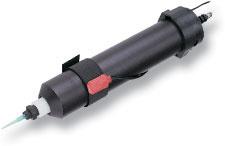 Vingerschakelaar voor cartridgehouder