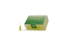 800117 doseernaald 32ga, naaldlengte 12,7mm, geel, dia 0,10mm