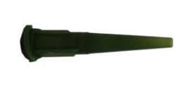 8001278 doseernaald, 14ga, conisch, UV+lichtblok, naalddiameter 1,6mm