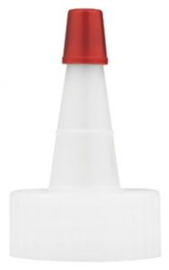 EASC18 Slip Lock cap wit,  1 & 2 Oz flesjes, 10 stuks