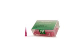 8001272 doseernaald 20ga conisch , roze, dia 0,6mm