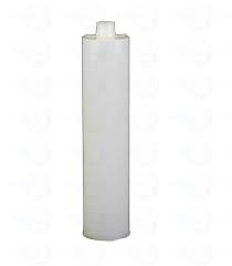 EA110C-HD Euro Cartridge,  clear HDPE, 1/10 gallon, 10 stuks