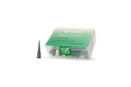 8001270 doseernaald 16ga conisch, grijs, dia 1,2mm