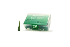 8001269 doseernaald 14ga conisch, olijf, dia 1,6mm