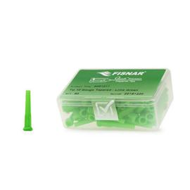 8001217 doseernaald 10ga conisch, lime green, dia 3,0mm