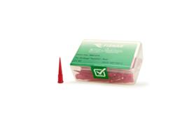 8001274 doseernaald 25ga conisch, rood, dia 0,25mm